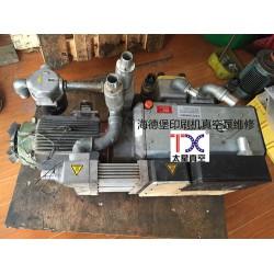 太星真空提供的海德堡印刷机真空泵维修服务