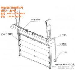 工业提升门供应商|郑州工业提升门|卓固门业