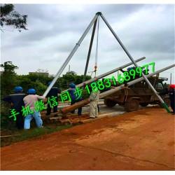 电线杆立杆机 三角架立杆机 立杆机厂家直销
