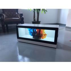 东莞惠华28.8寸长条形液晶展示柜、化妆品液晶展柜