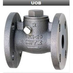 UOB-10K不锈钢止回阀-日本KITZ北泽UOBM法兰