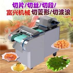 千叶豆腐切块机 富兴萝卜切丁机 海带切丝价