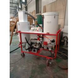 小型循环回收式喷砂机