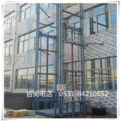 西安 承载1-10吨液压货梯 导轨式货梯厂家安