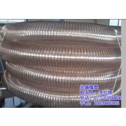 吸尘钢丝通风管|高温吸尘风管选兴盛|北京钢