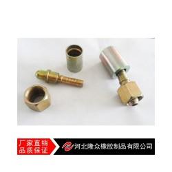 河北隆众厂家直销耐高压 弹性好 减震动胶管接头
