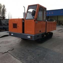 直销工程矿山全地形自卸式履带运输车 承载8吨履带式运输车