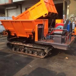 小型履带运输车 自卸式工程橡胶履带运输车 拉木头拉建材运输车