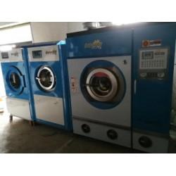 白山市营业中干洗店转让二手UCC石油干洗机绿洲二手干洗机