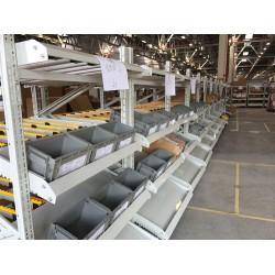 苏州鑫辉滑移式货架生产厂家 流利条货架直销可定制