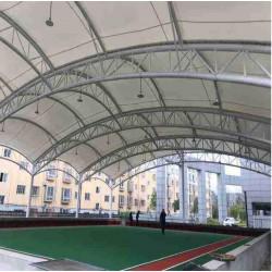 湖北膜结构报价 汉泰小区膜结构 鄂州充电站膜结构棚维修