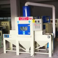 自动喷砂机 玻璃雾化自动喷砂机 电脑机箱输送式自动喷砂机