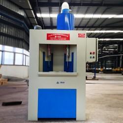 自动转盘喷砂机转台式圆柱体专用连续式转盘自动喷砂机