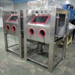 厂家供应湿式手动喷砂机  五金首饰加工水式喷砂设备喷砂机厂家