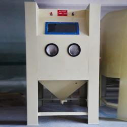 广东喷砂机 除锈干式手动喷砂机 表壳表带五金表面处理喷砂设备
