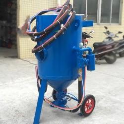 砂水混合除锈除漆喷砂机厂家 汽车翻新喷砂机移动式加压喷砂机