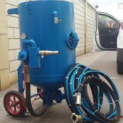 砂水混合式喷砂机 开放式移动式户外除锈喷砂机 湿式喷砂设备