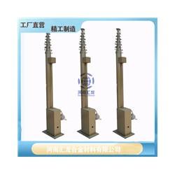直供兵器库升降避雷针价格 3-40米避雷针电动天线升降杆厂家