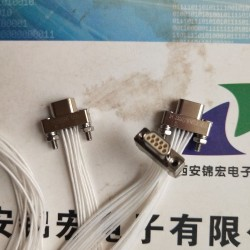 宝鸡有研产销售J30JZ/XN9TJCAL01带线连接器插头