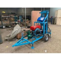 打井机地源热泵钻井设备 小型家用水井钻机 电机/柴油机钻孔机