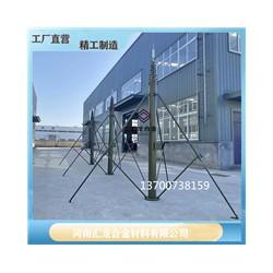 辰锐西快装式升降避雷针 野战帐篷升降避雷针12米13米厂家