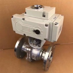 Q941F-16产品电动阀 法兰电动球阀