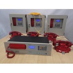 消防电话光端机/有线电话系统/管廊光纤电话副机IP网络电话