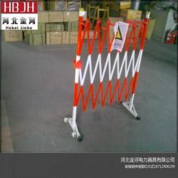 玻璃钢围栏管式广东电力伸缩围栏可定制
