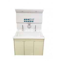 迪新高分子PMMA材质医用双人位洗手池感应式自动出水可定制
