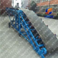 防滑带输送机厂家 不锈钢输送机厂家 双变幅