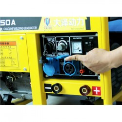 进口250A汽油发电电焊机