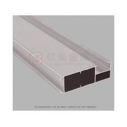 亿玺装饰边框铝型材 工业铝边框 装饰边框扣边铝型材