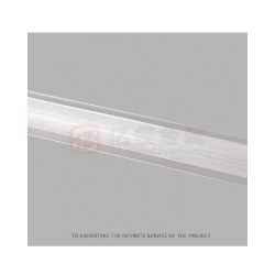 亿玺工业铝边框 装饰边框铝型材收边条 磨砂广告收边