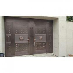 修武县庭院铜大门(电动铜门)价格低-品质
