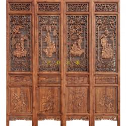 江西木雕屏风|艺修木艺追求完美|欧式木雕屏